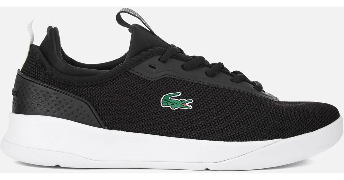 a6be59e622ac0 ... Grey Black  Lacoste Women s Lt Spirit 2.0 317 1 Runner Trainers in  Black - Lyst good selling ...
