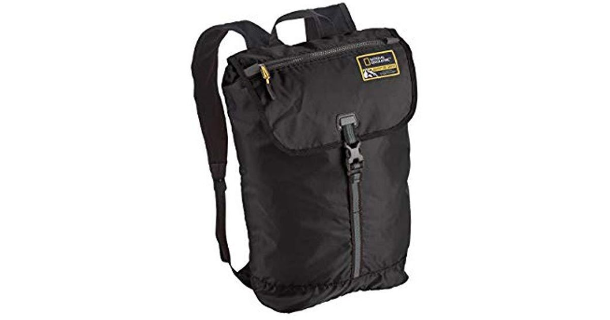 aebe892e7 Eagle Creek National Geographic Adventure Packable Backpack 15l Travel  Backpack in Black for Men - Lyst