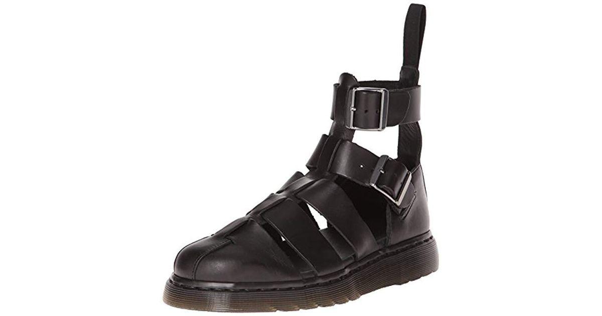Black For DrMartens Geraldo Men Lyst Sandal 4ALqR35j