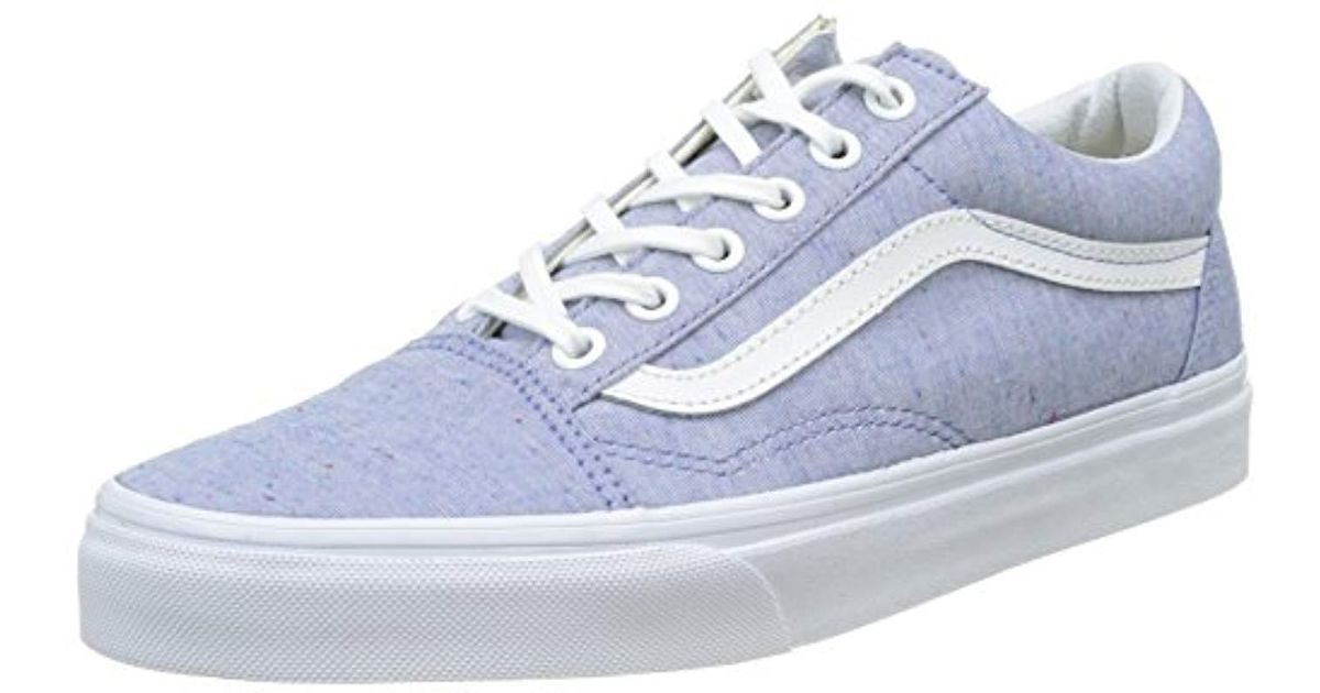 eeb491ec563e4 Vans - Blue Unisex Old Skool Classic Skate Shoes - Lyst