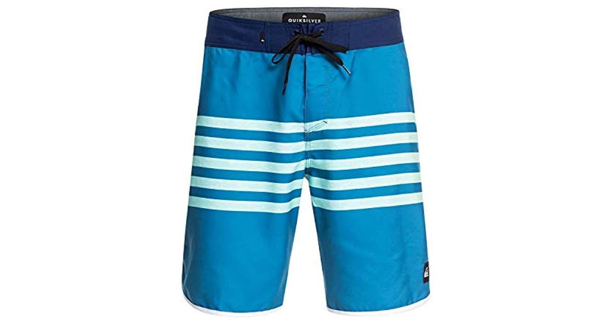 6b2758cdeb Lyst - Quiksilver Everyday Grass Roots 20 Boardshirt Swim Trunk in Blue for  Men