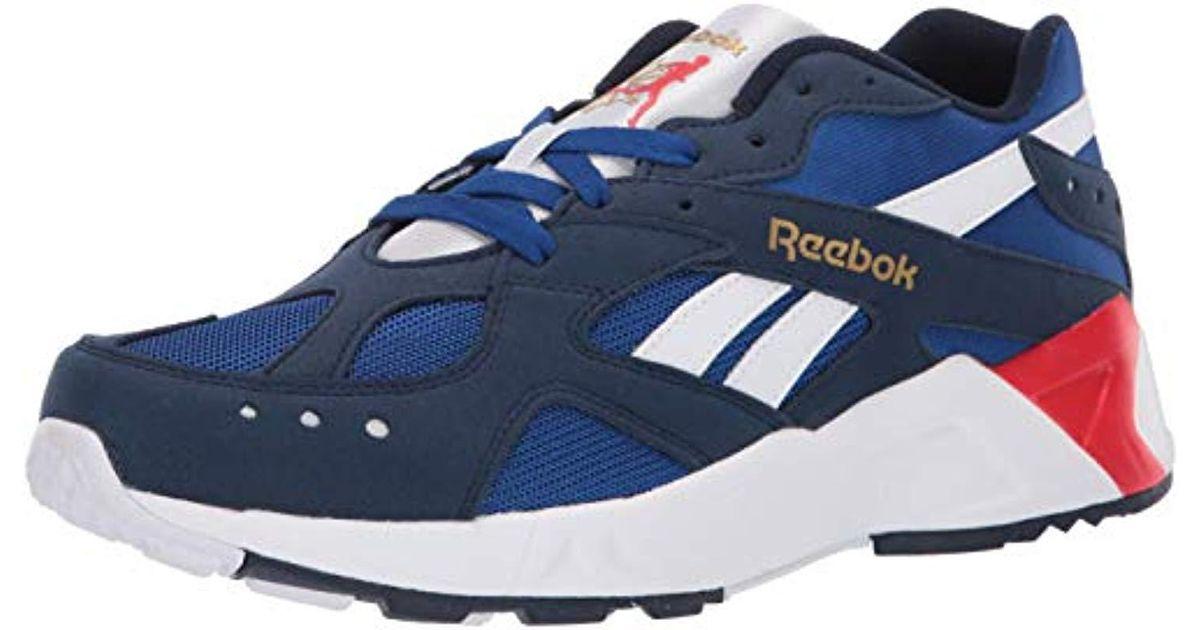1095b3f38bc Lyst - Reebok Aztrek Sneaker in Blue