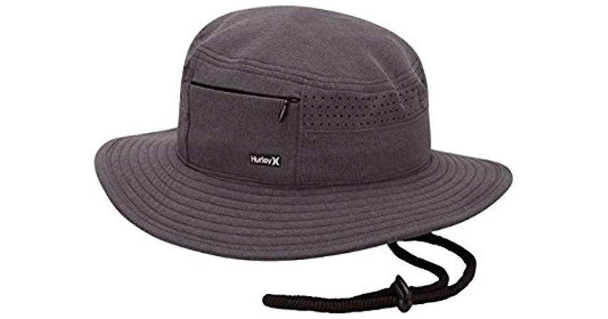 80fc078cc86 Lyst - Hurley Surfari 2.0 Hat in Black for Men