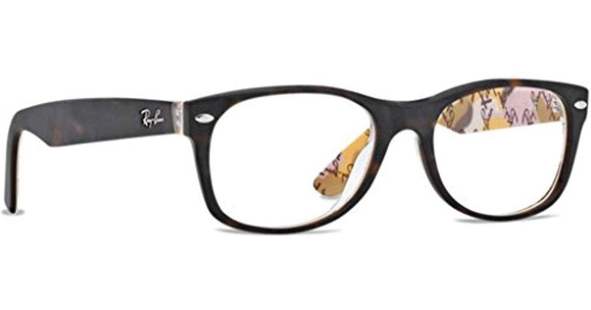 7baf340fe4 Lyst - Ray-Ban Unisex Rx5184 New Wayfarer Eyeglasses in Black for Men