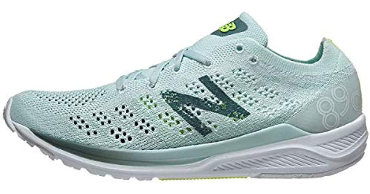 size 40 a1622 e2f6f Lyst - New Balance 890v7 Trail Running Shoe Crystal Sage dark  Agave bleached Lime Glo 6.5 D Us in Blue