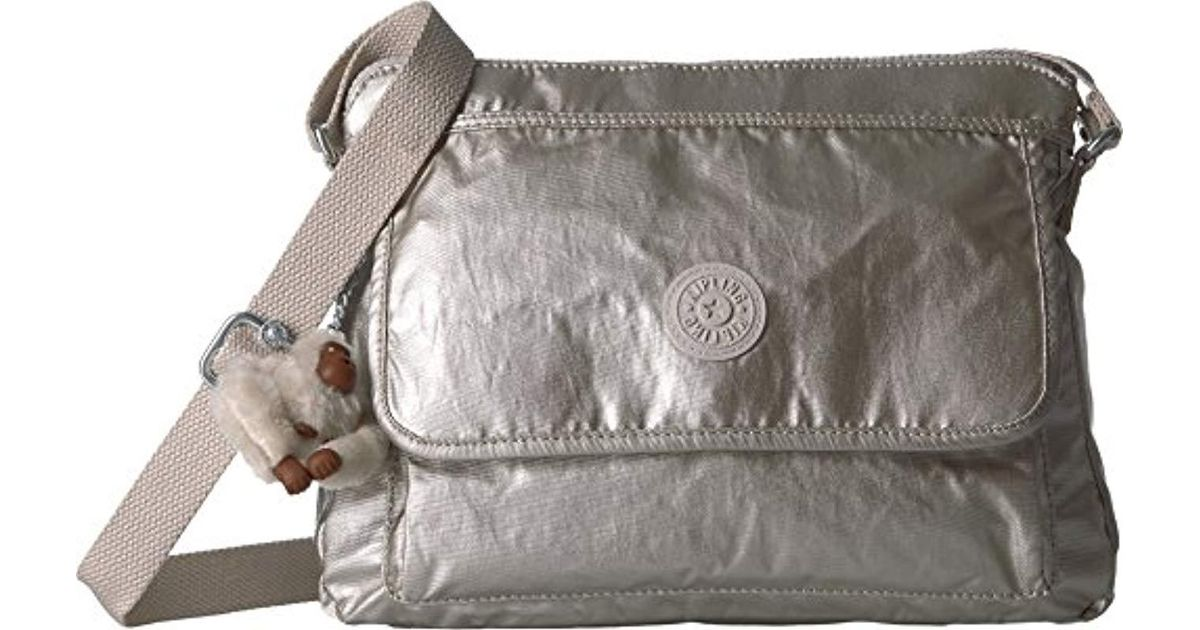 07d899cf9 Kipling Aisling Solid Crossbody Bag Convertible Cross Body in Gray - Lyst