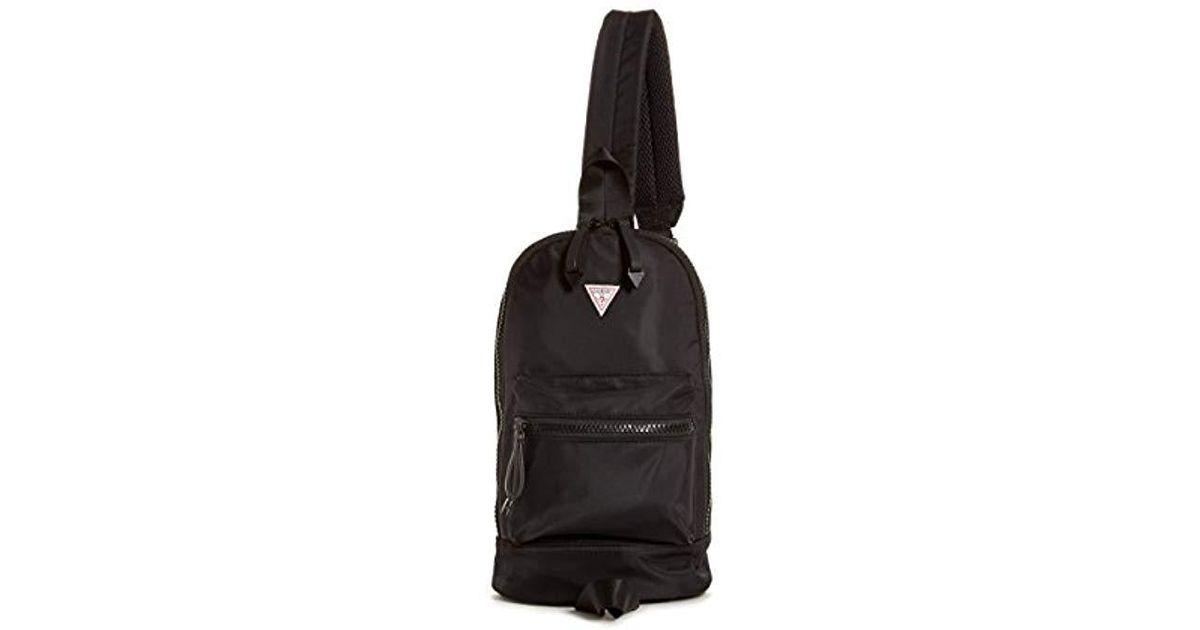 727975d01b28 Lyst - Guess Originals Mini Sling Backpack in Black for Men