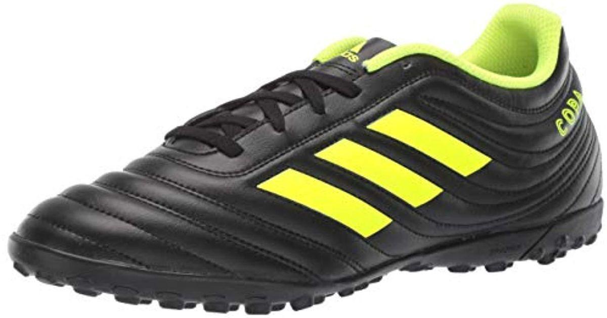4d0f0ab913b adidas Copa 19.4 Turf Soccer Shoe in Black for Men - Lyst