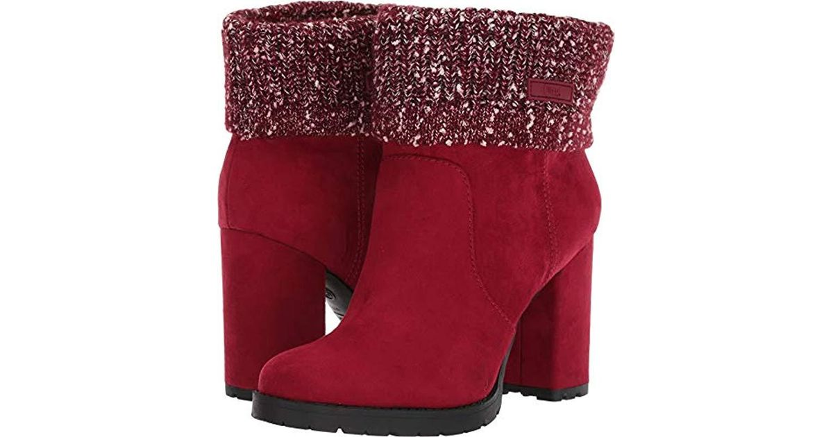 03caec5f549c8b Lyst - Circus by Sam Edelman Carter in Red - Save 25%