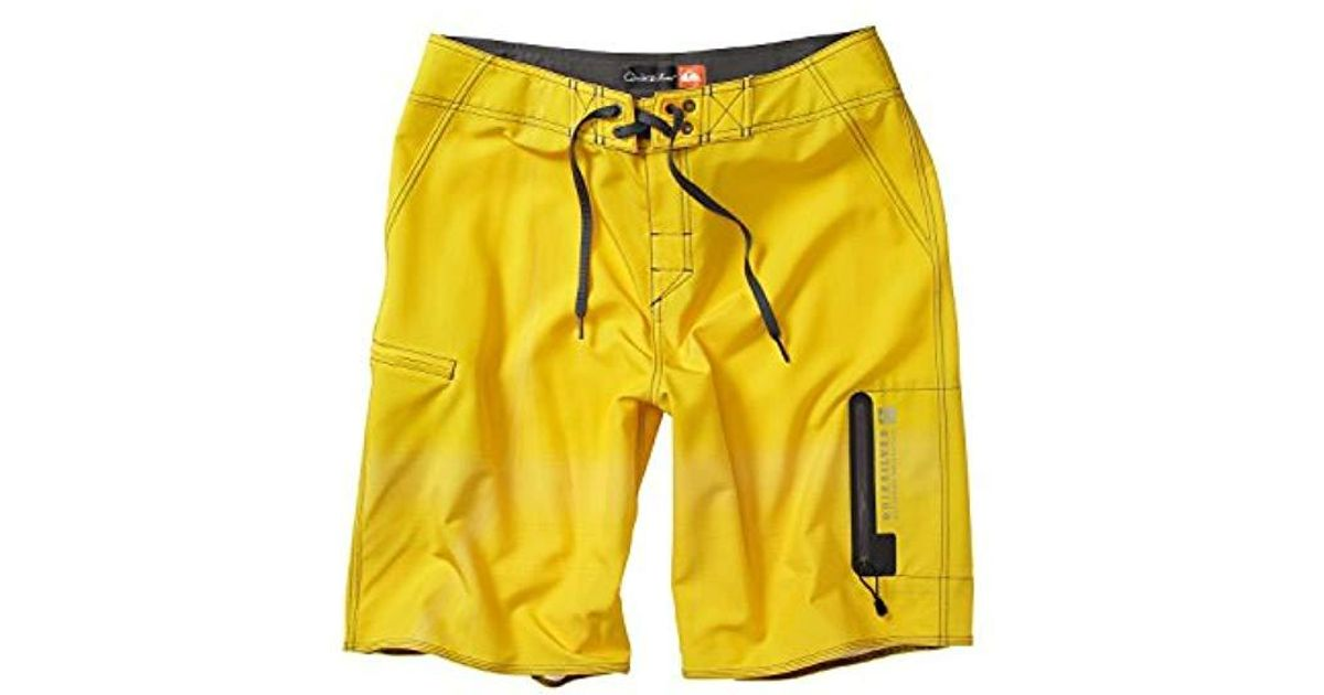 aabbaee432 Lyst - Quiksilver Waterman Paddler 2 Boardshort in Yellow for Men