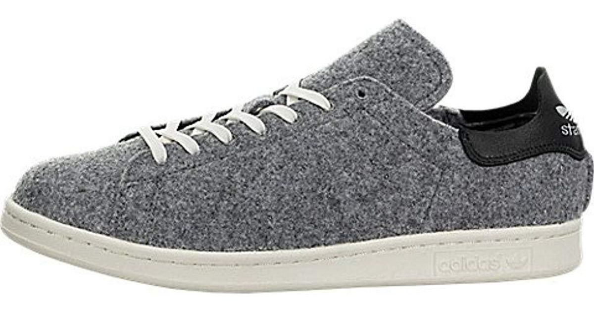 premium selection df313 60685 Adidas Originals - Gray Stan Smith Vulc Shoes for Men - Lyst