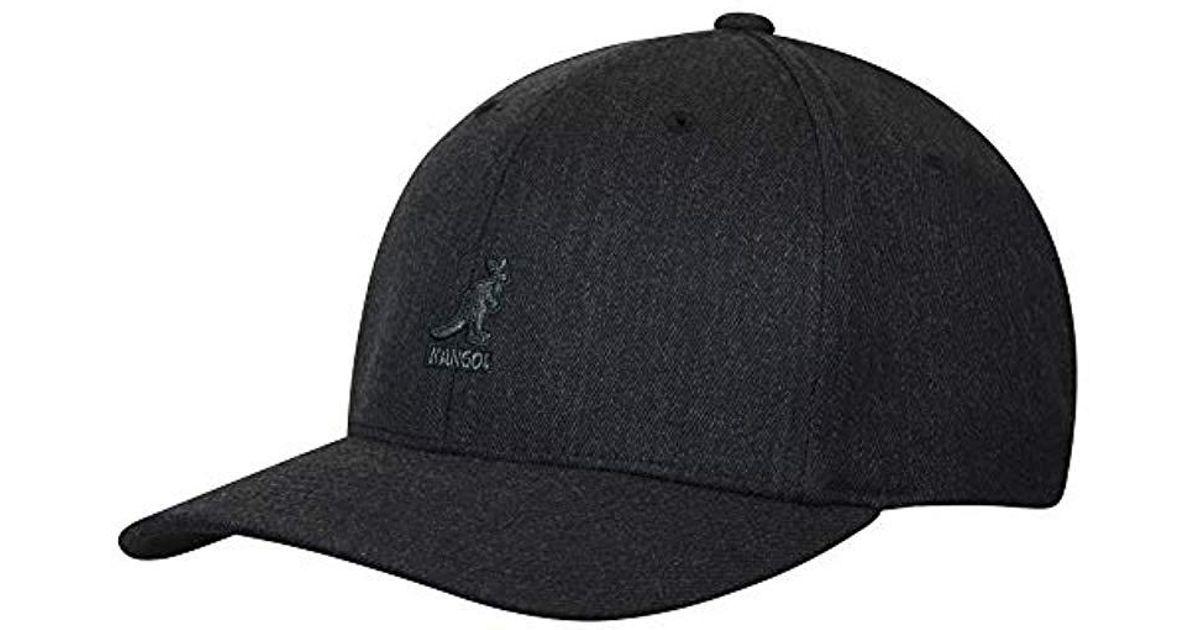 83d7a4425fd96 Lyst - Kangol Wool Flexfit Baseball Cap Hat in Gray for Men