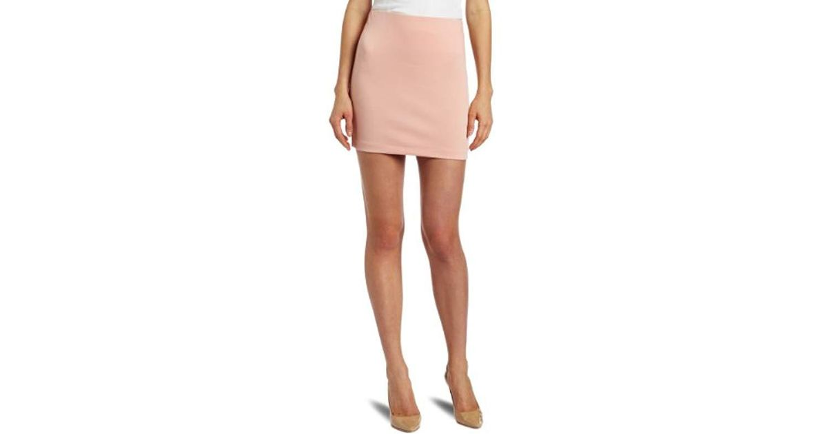283294a19 Lyst - BCBGeneration Pullover Skirt in Pink