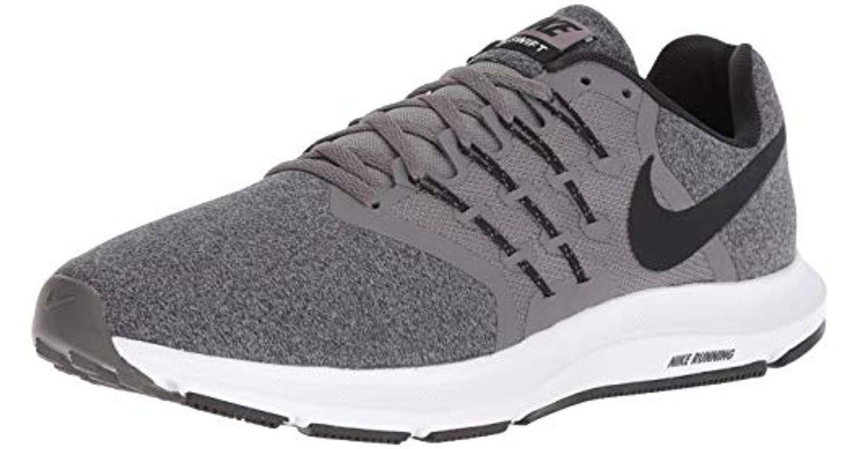 designer fashion 41be9 4390b Lyst - Nike Swift Running Shoe, Gunsmoke black-white, 7 Regular Us in Black  for Men