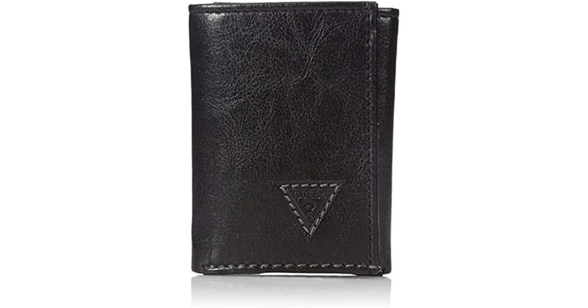 638adba2a0 Lyst - Guess Diego Trifold Wallet in Black for Men