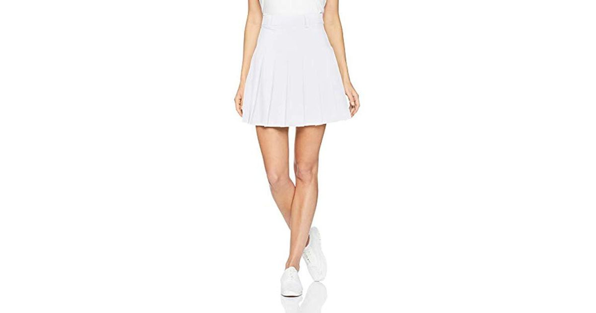 4635d8dc13 J.Lindeberg Pleated Golf Skirt in White - Lyst