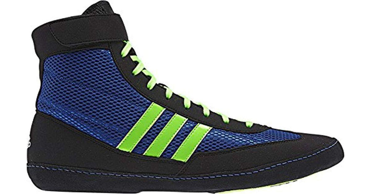 Lyst - adidas Wrestling Combat Speed 4-m in Green for Men 07602c3f7