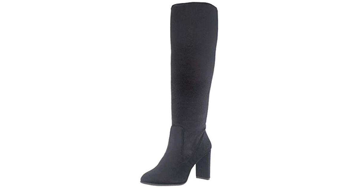 49772c27a557 Lyst - Nine West Kellan Fabric Knee-high Boot
