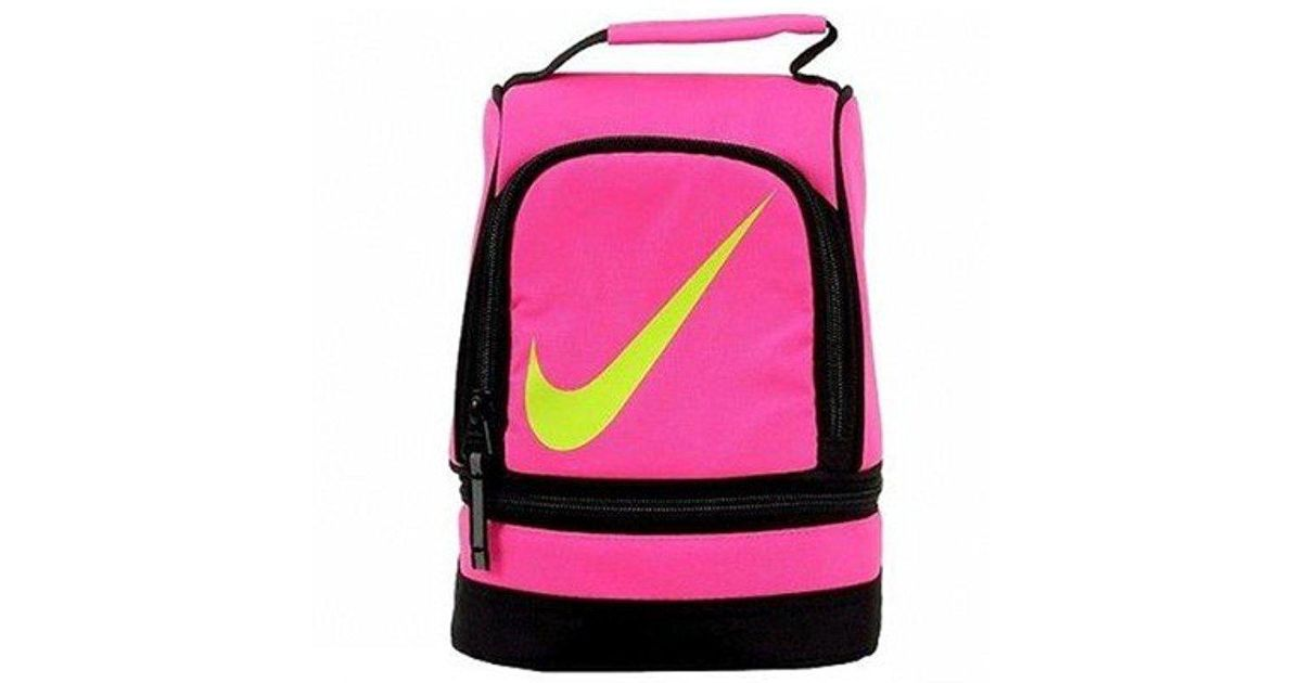 f06df9f797 Nike - Pink 9a2546 Contrast Insulated Tote Lunch Bag - Lyst