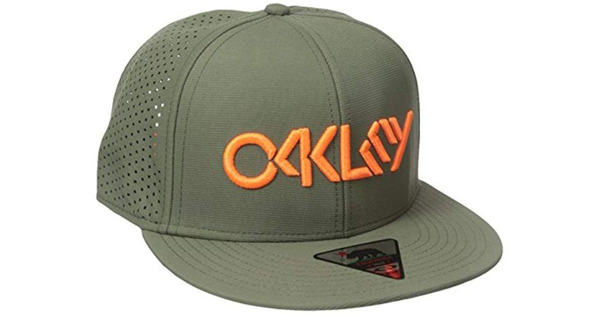 fde1ba981099d ... australia lyst oakley perf hat in green for men 18cb5 8a665