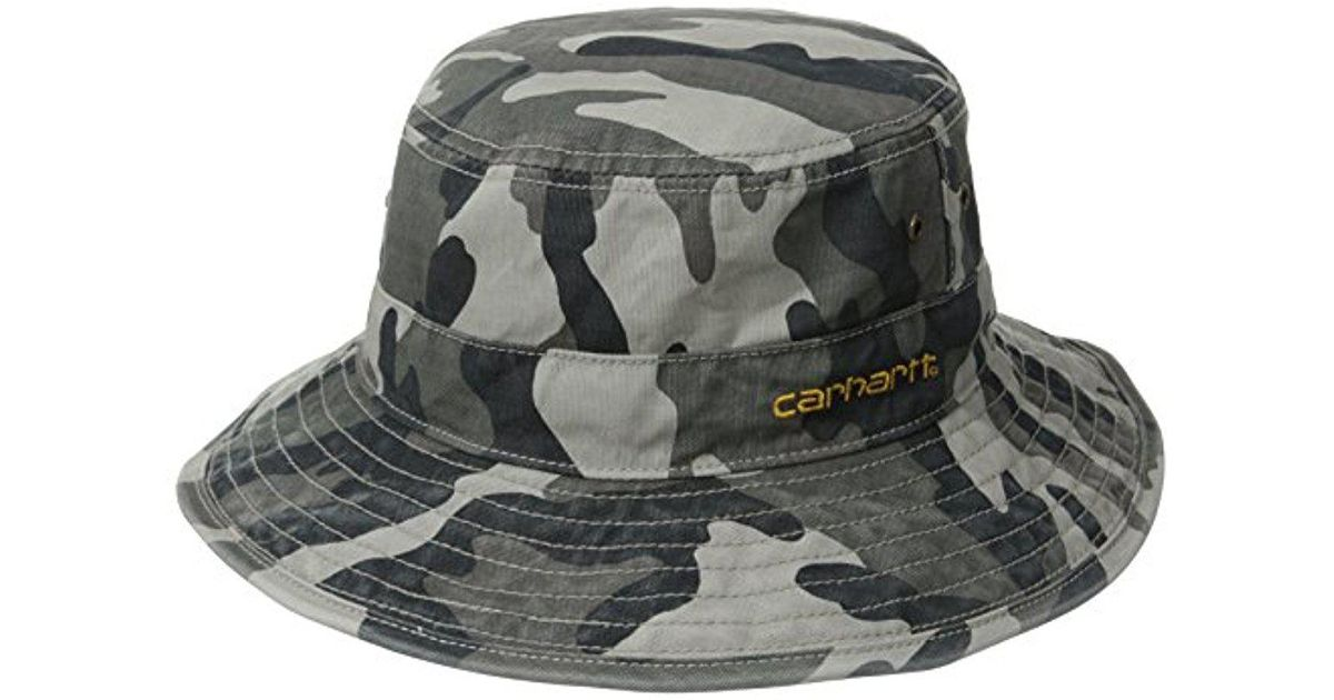 5bbd9f17 Carhartt Fast Dry Billings Force Hat in Gray for Men - Lyst