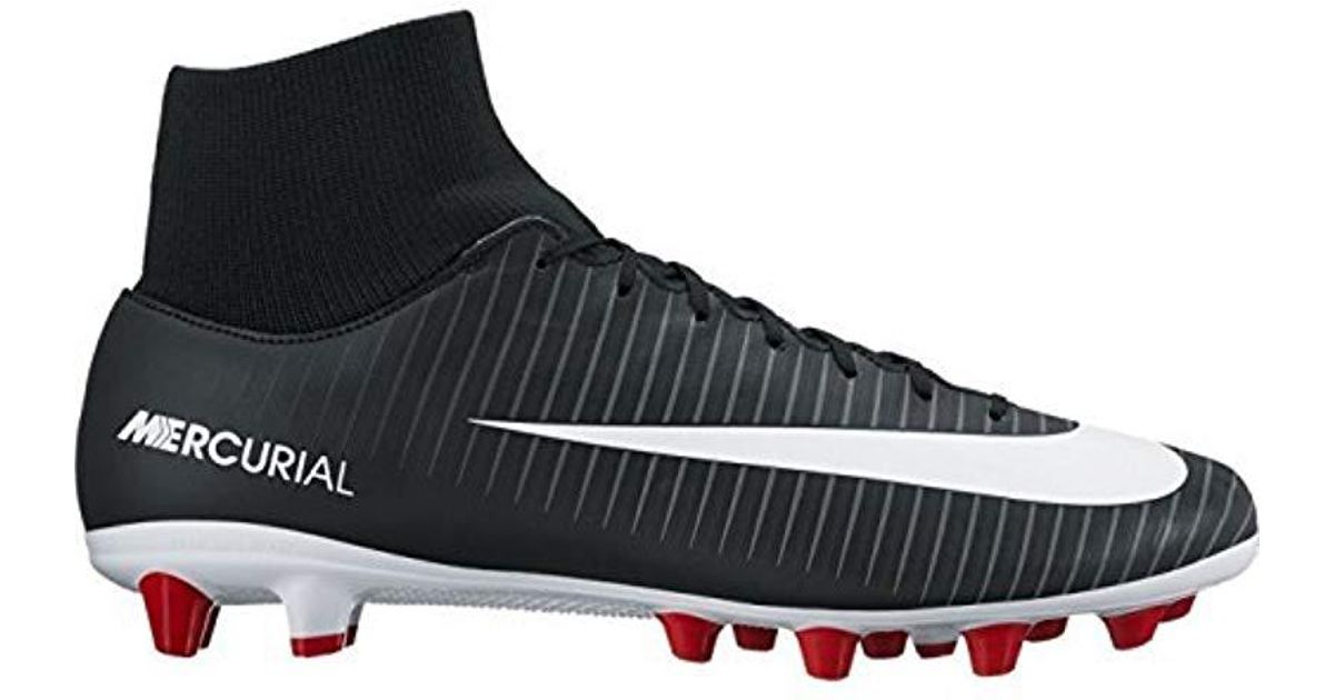 170ea29aa29 Nike Mercurial Victory Vi Df Agpro Footbal Shoes in Black for Men - Lyst