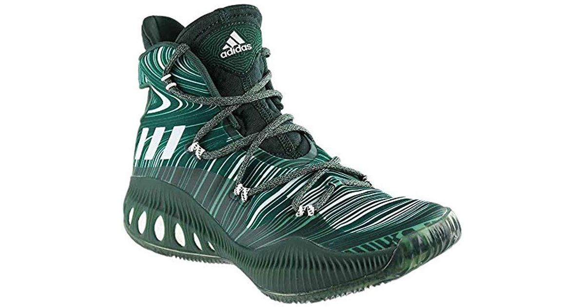 free shipping 881e2 9874b Lyst - adidas Performance Crazy Explosive Basketball Shoe in Green for Men