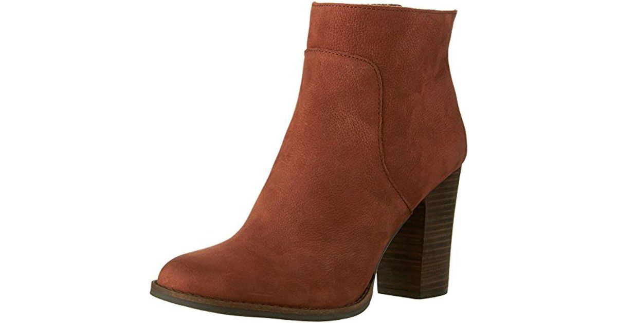 3d759e4c1931 Lyst - Lucky Brand Liesell Boot in Brown