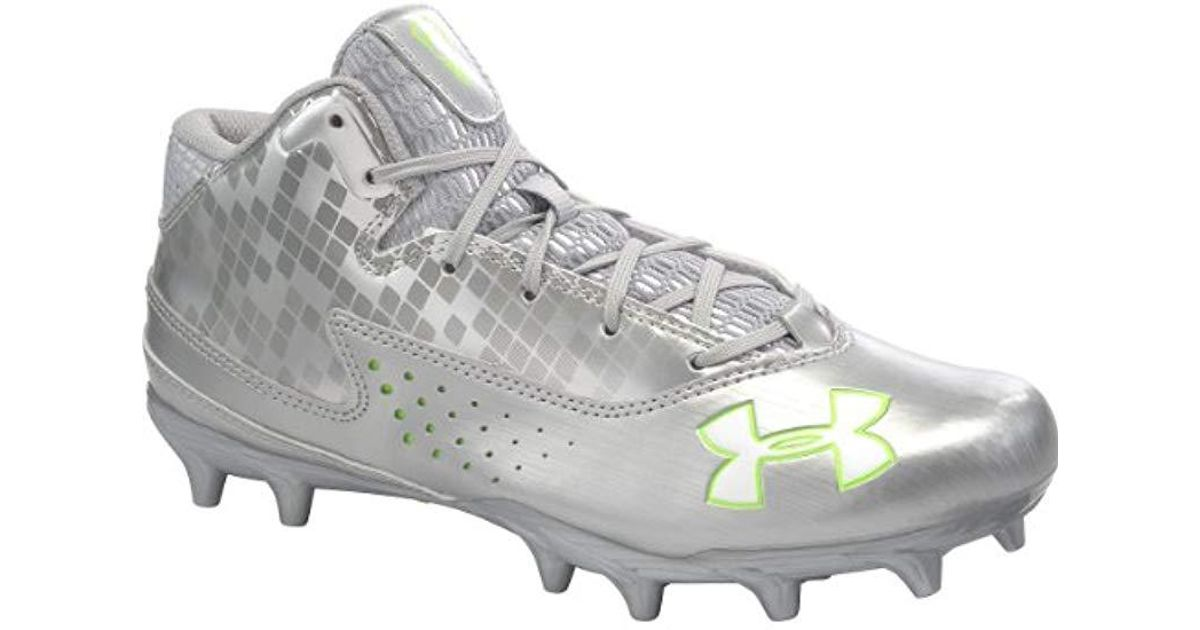 2f2dcd498316 Lyst - Under Armour Banshee Ripshot Mc Lacrosse Shoe in Metallic for Men