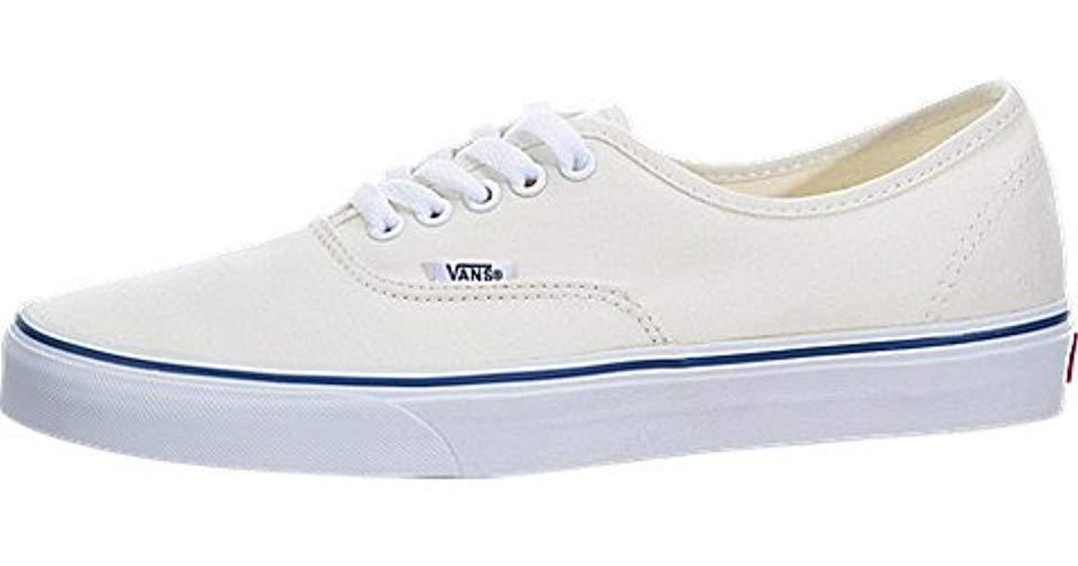 bd23f36586a Lyst - Vans Herren Authentic Core Classic Sneakers in White for Men