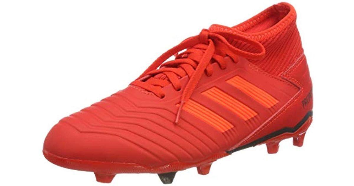 Unisex 18 Boots Fxg Boys' Football Predator Adidas Adults' 4 J hQdCsrxBt