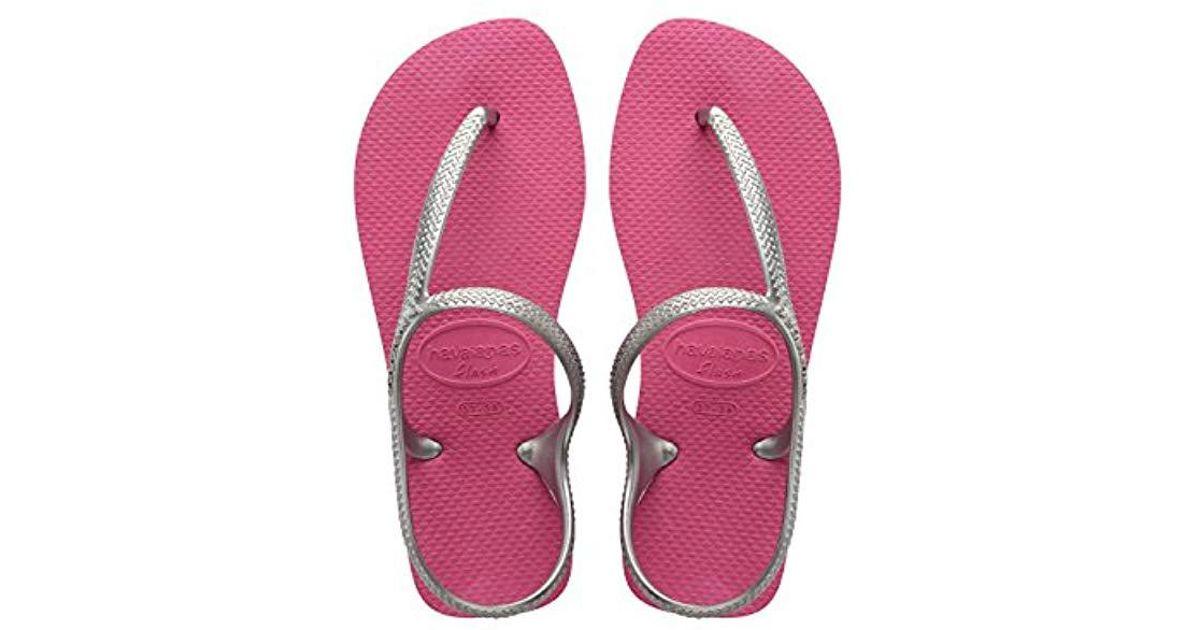 50e8aff98 Havaianas Flash Urban Flip Flops in Pink - Lyst