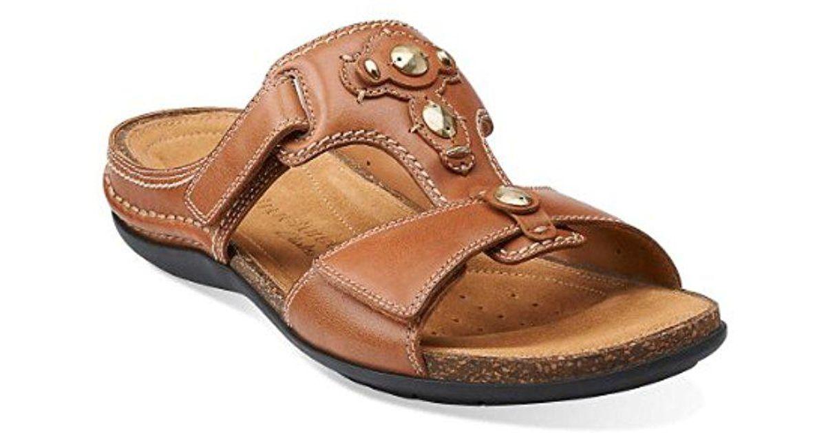 c5a7e6389 Lyst - Clarks Palmarita Gladiator Sandal in Brown