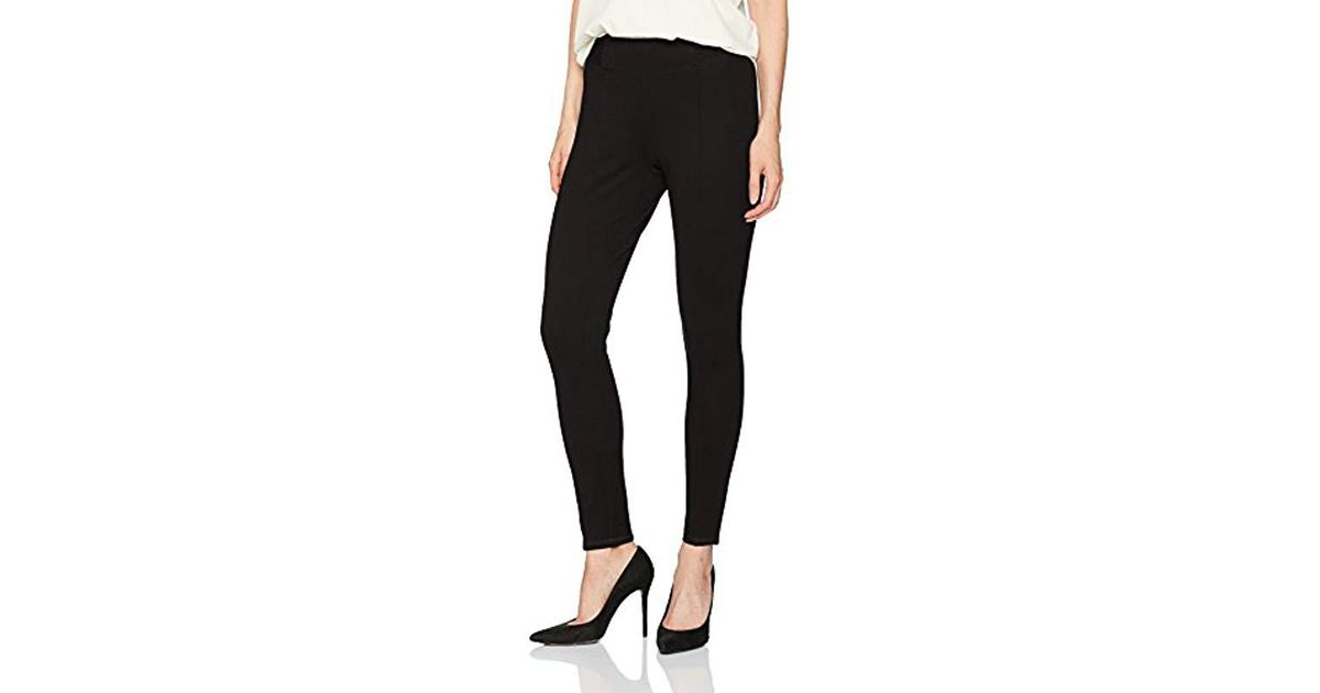 2a747719f63 Lyst - Jones New York Plus Size High Waist Band Slim Fit Pant in Black