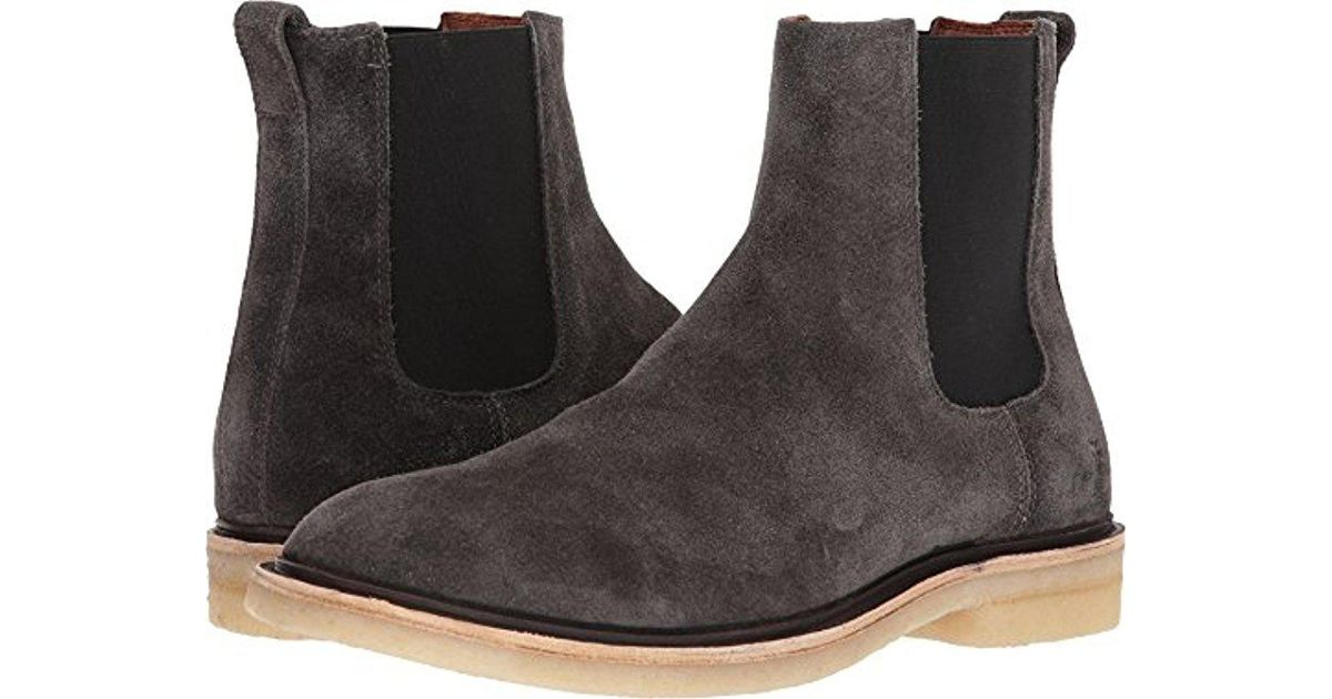 65f9eb43a9d Lyst - Frye Chris Crepe Chelsea Boot for Men - Save 32%