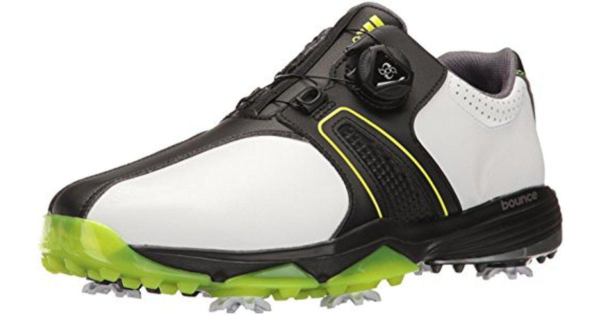 360 Lyst Adidas Traxion Boa Golf zapatos in negro para hombres