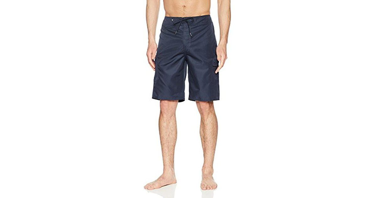 43fdf3a3277a4 Lyst - Quiksilver Manic Solid 21 Boardshorts in Blue for Men - Save 5.0%