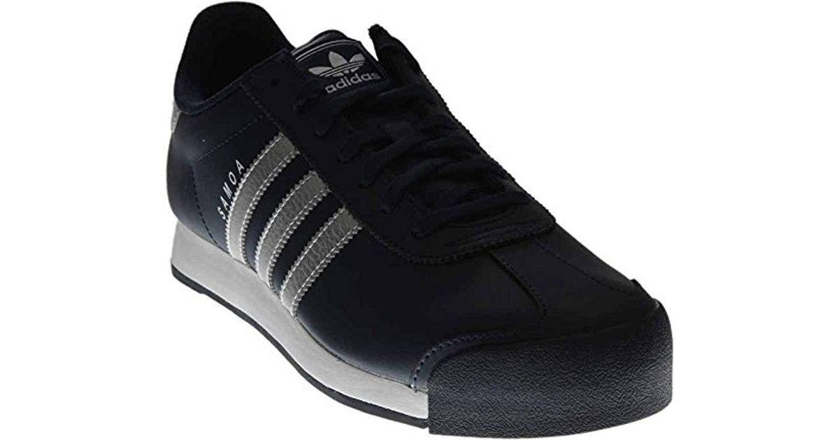 a2c21efb15a3 Lyst - adidas Originals Adidas Samoa Fashion Sneaker in Blue for Men