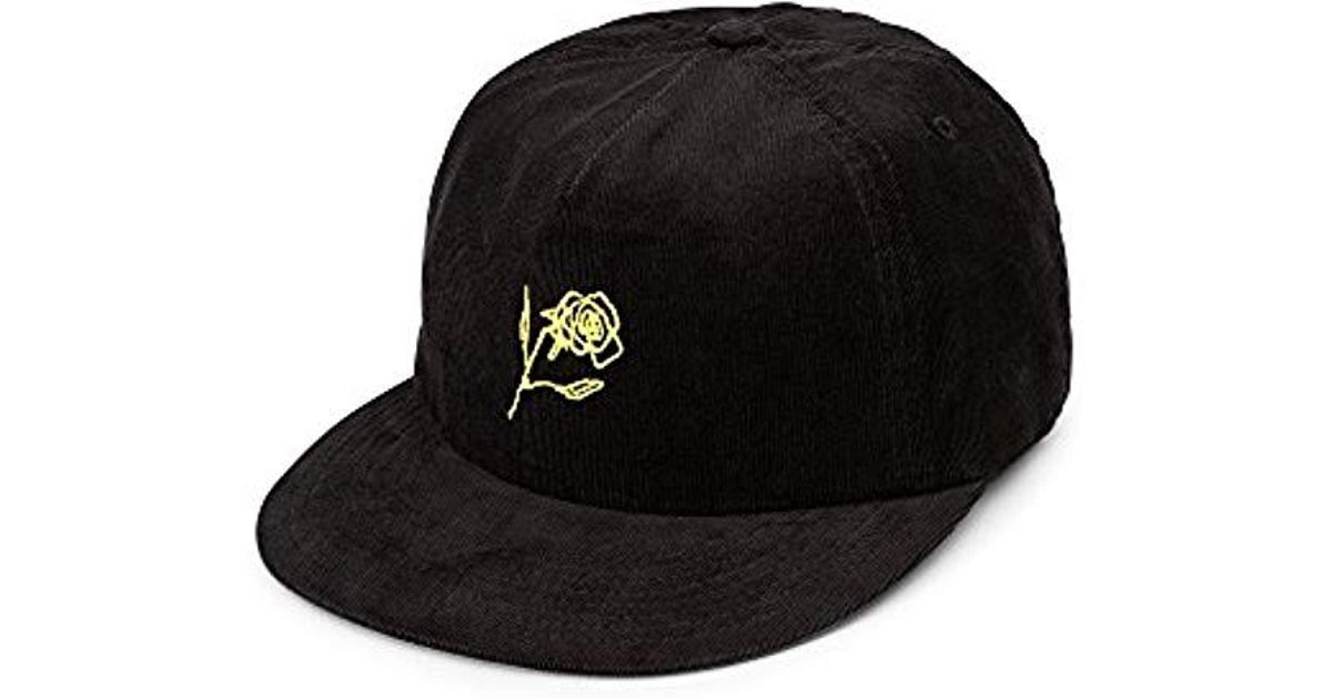 sports shoes c8a06 946b4 ... discount lyst volcom stone bud five panel hat in black for men c2b28  89c00