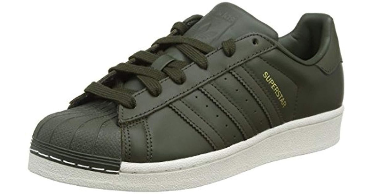 Adidas Green 's Superstar Basketball Shoes for Men Lyst