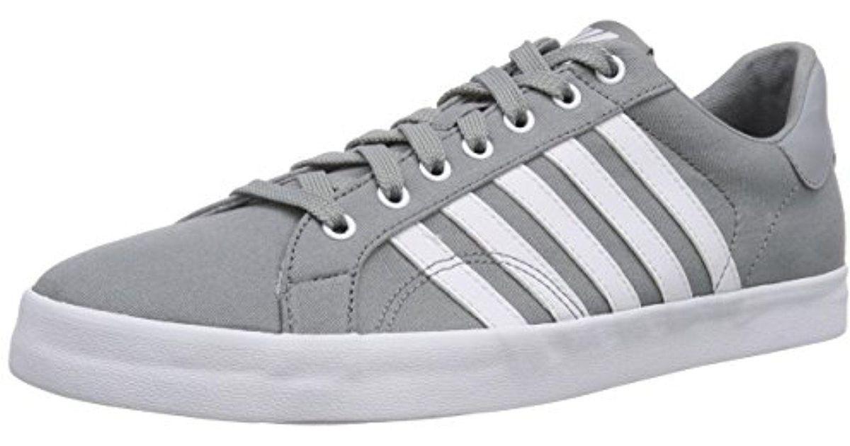 1ec36e538dff Lyst - K-swiss Belmont So T Fashion Sneaker in Gray for Men - Save 62%