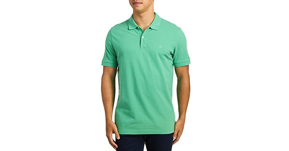 532c45f2 Lyst - Dockers Washed Pique Polo Short Sleeve in Green for Men