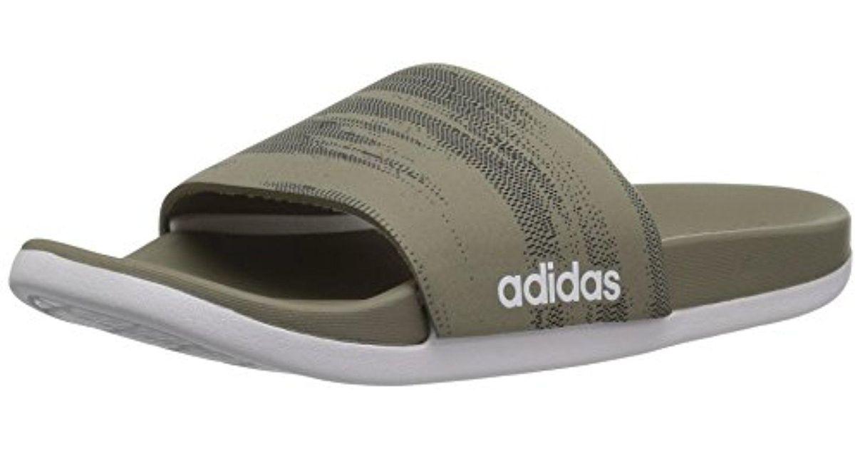 3e2b4511b5a06f Lyst - Adidas Originals Adidas Adilette Cf+ Link Gr Slide Sandal ...