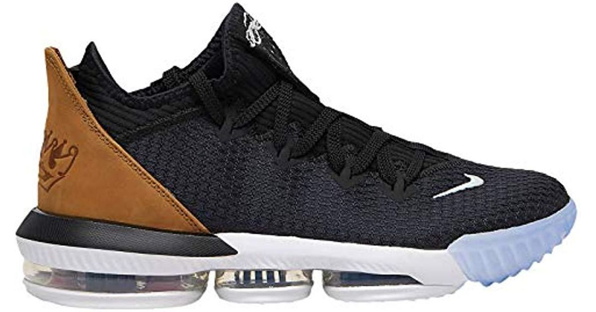huge discount 467ce e0b76 Nike - Black Lebron 16 Low Synthetic Basketball Shoes for Men - Lyst