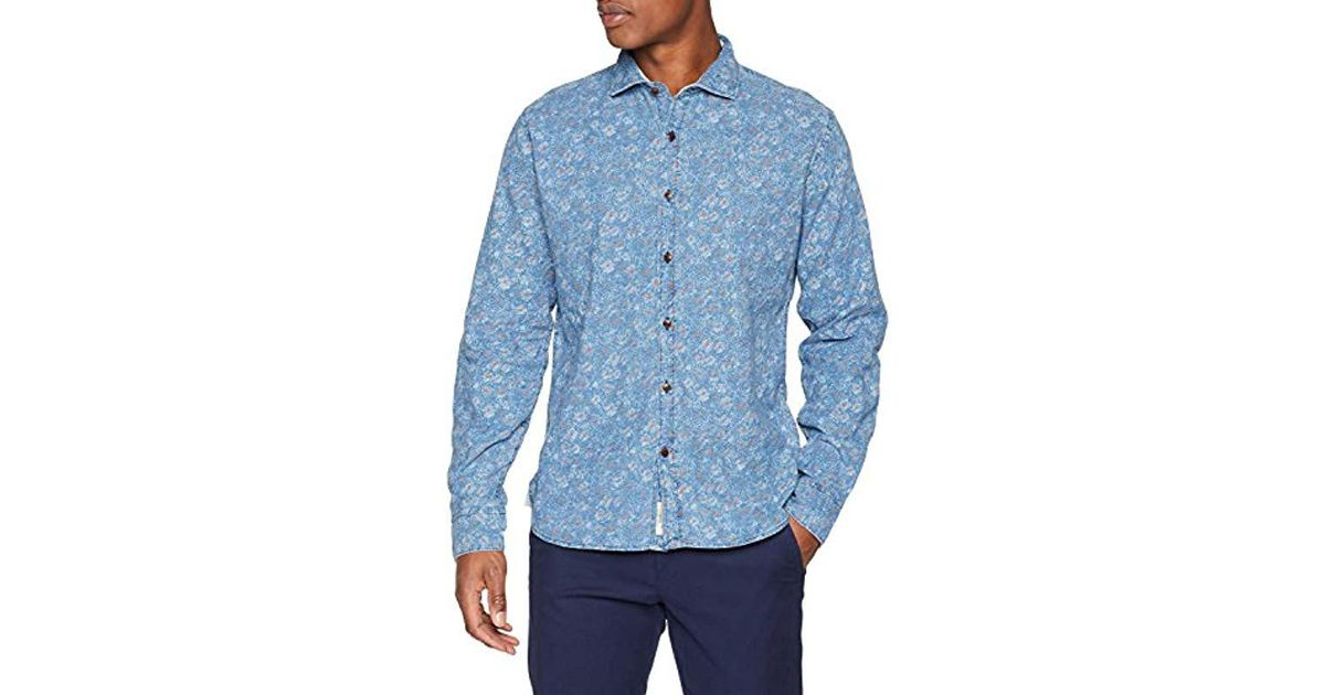 844b46e8b6744f Pepe Jeans Dress Shirt in Blue for Men - Save 6.329113924050631% - Lyst