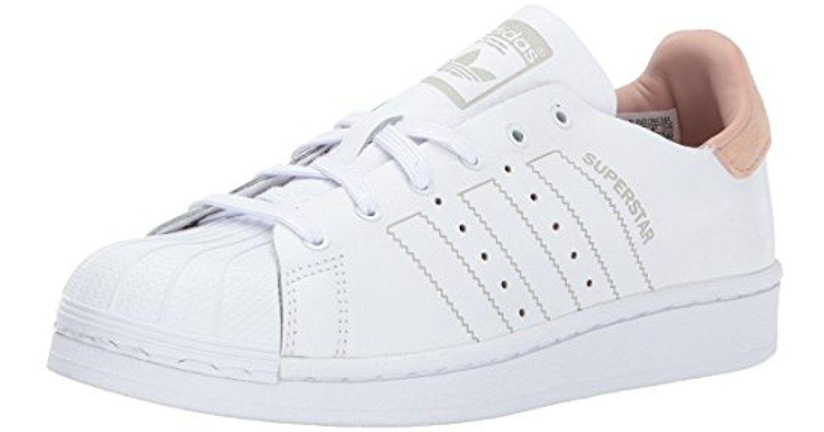 Lyst adidas Originals Superstar decon W, blanco / blanco / White