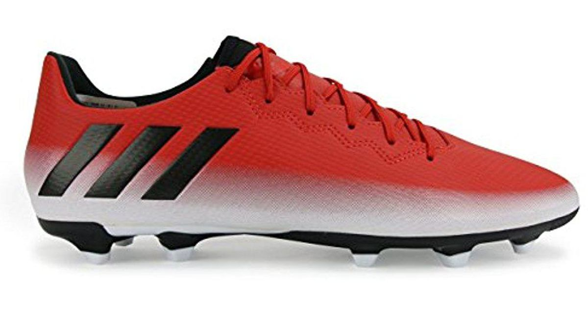 5197719b94a Lyst - adidas Messi 16.3 Fg Soccer Shoe in Red for Men