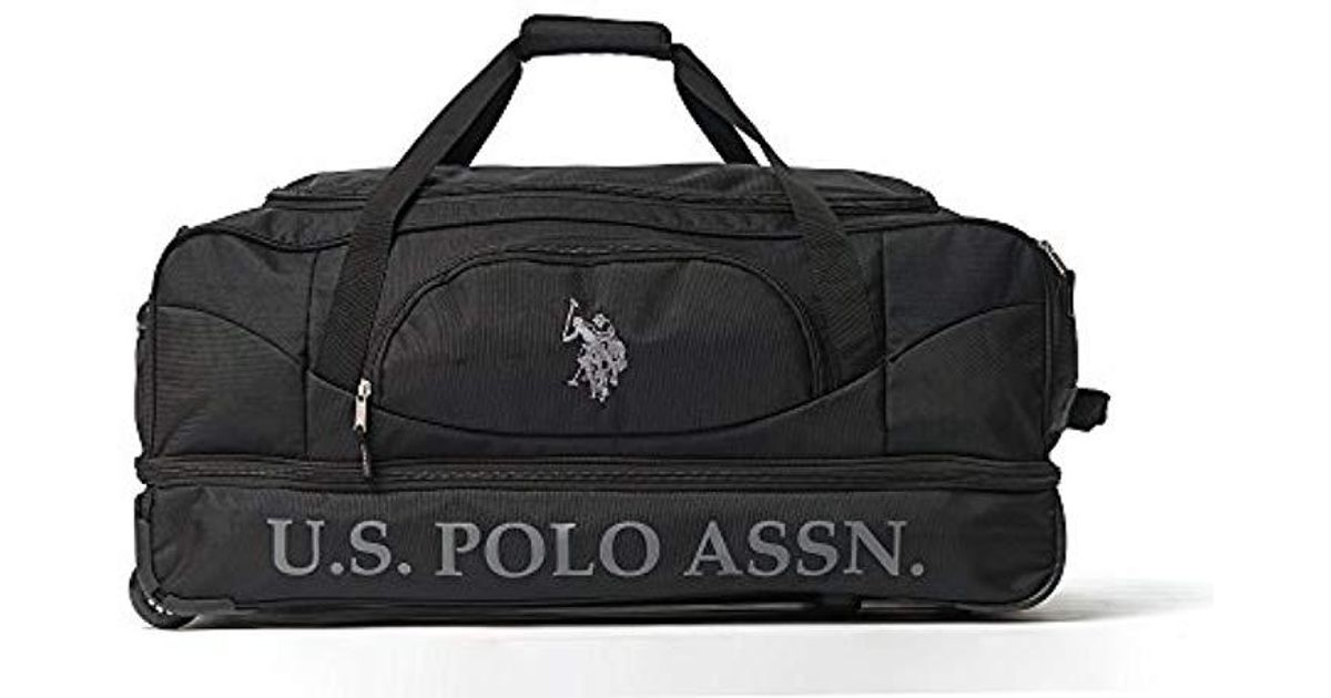 Lyst - U.S. POLO ASSN. 30in Deluxe Rolling Duffle Bag c41cdeed4d3fc