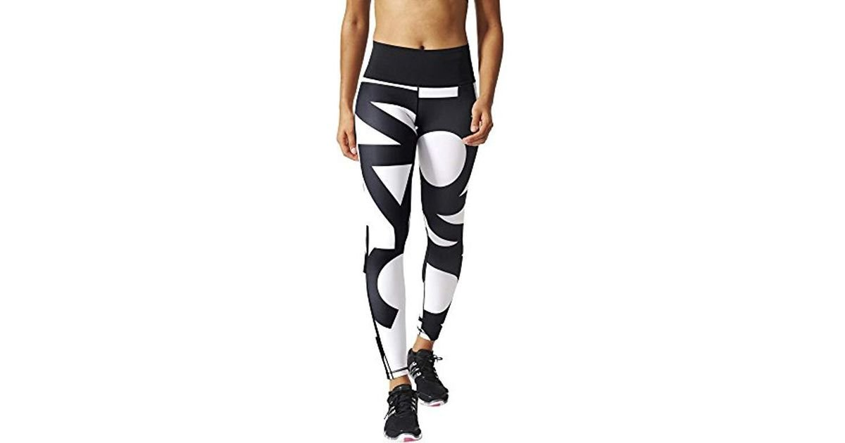Black Tights Adidas Lyst Superlong Fit Ultimate XknO80wP