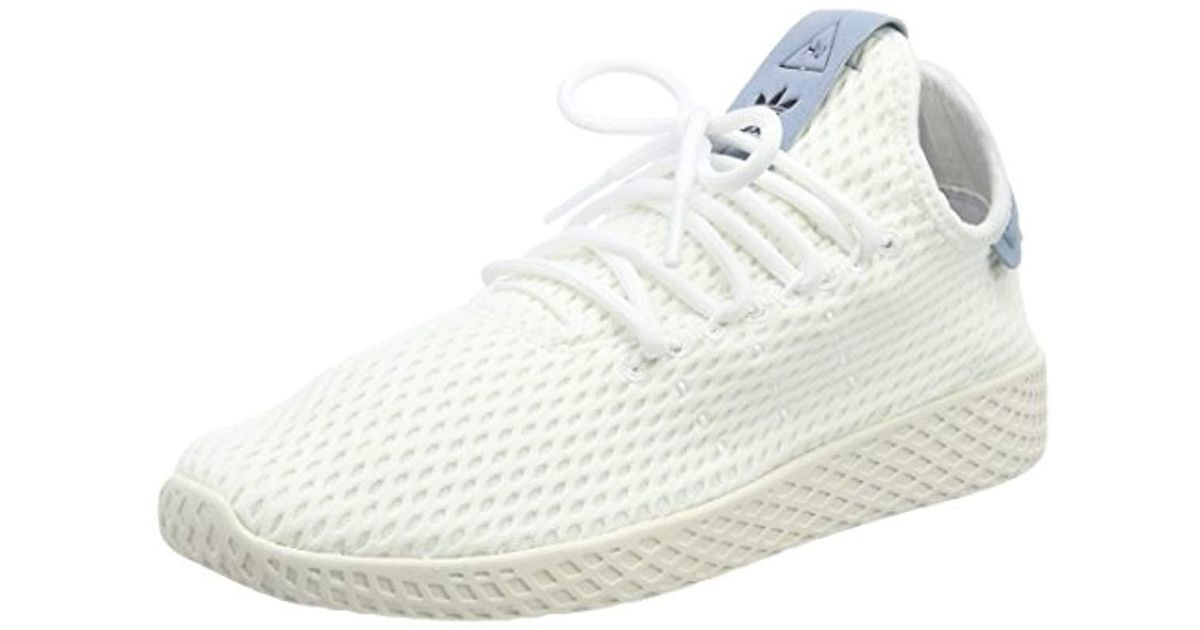 e93a1ffe4a806 adidas Pw Tennis Hu Fitness Shoes Black in White for Men - Lyst